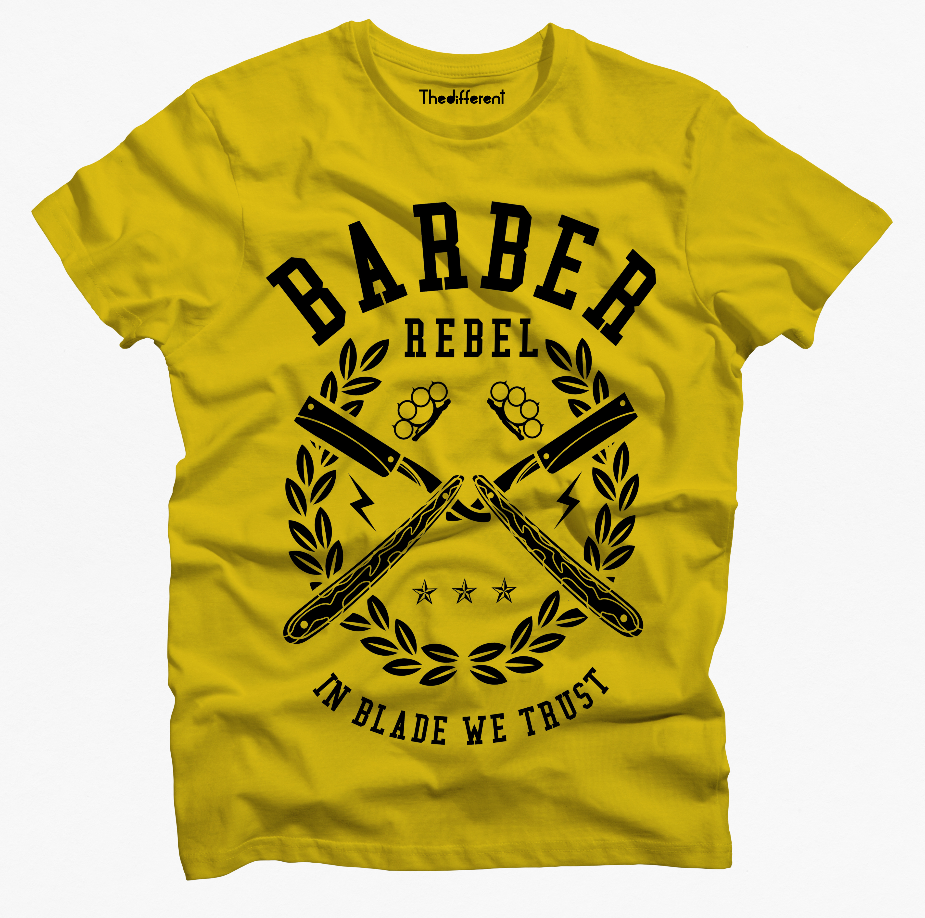 T-Shirt Uomo Barber Rebel – GRU1 4