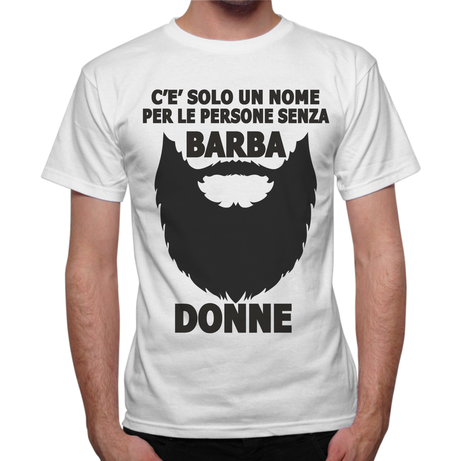 T Uomo The Shirt Senza Barba Different wknXOPNZ80