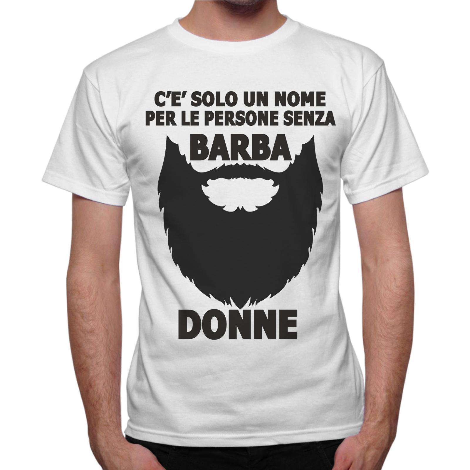 T-Shirt Uomo SENZA BARBA