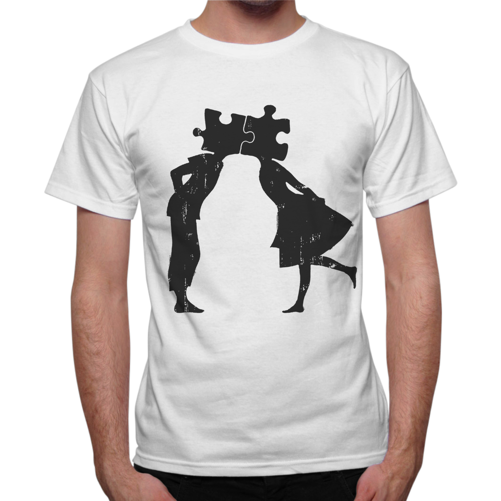 T-Shirt Uomo PUZZLE LOVE 1