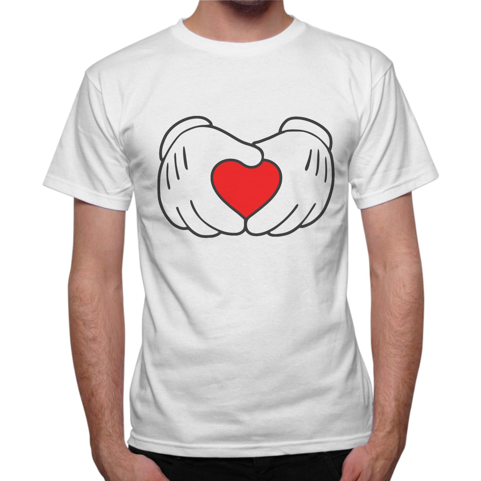 T-Shirt Uomo CARTOON CUORE 1