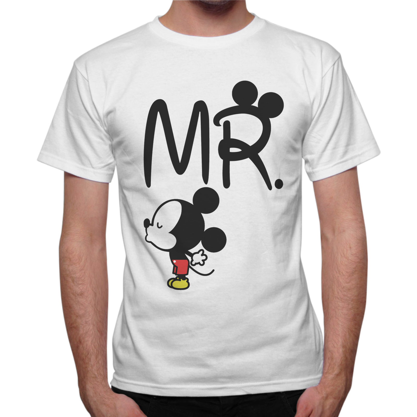 T-Shirt Uomo MR.  LITTLE TOPOLINO