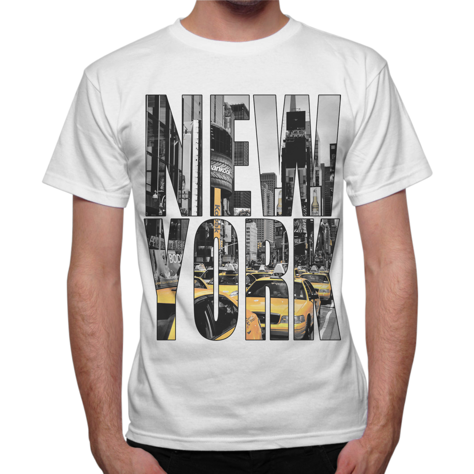 T-Shirt Uomo NEW YORK TAXY