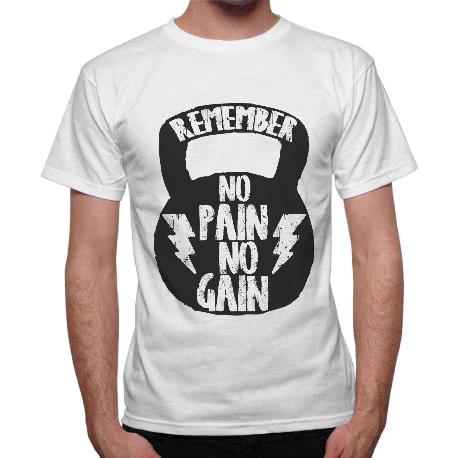 T-Shirt Uomo NO PAIN NO GAIN