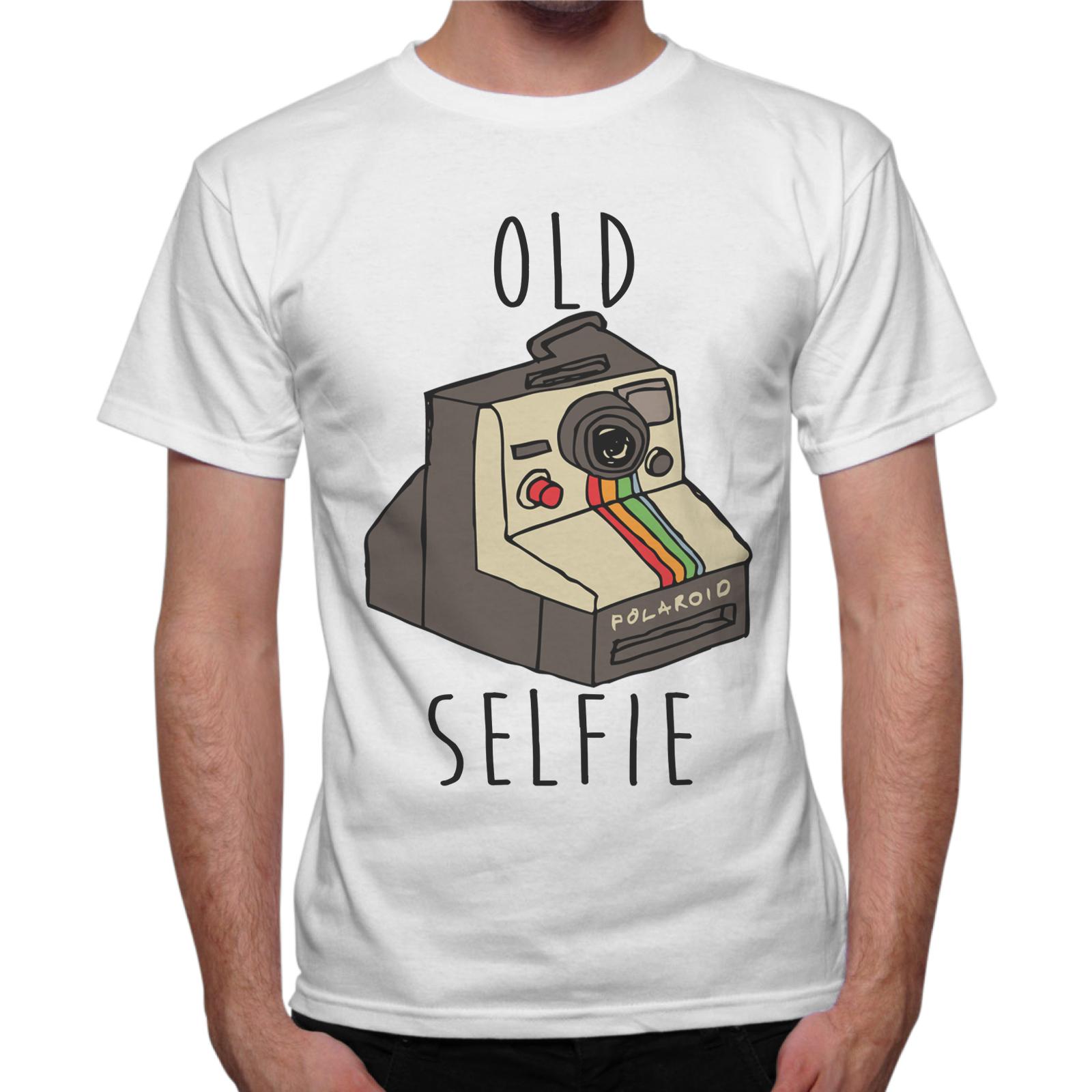 T-Shirt Uomo OLD SELFIE