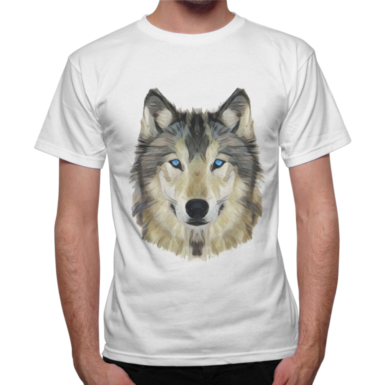 T-Shirt Uomo WOLF DRAW