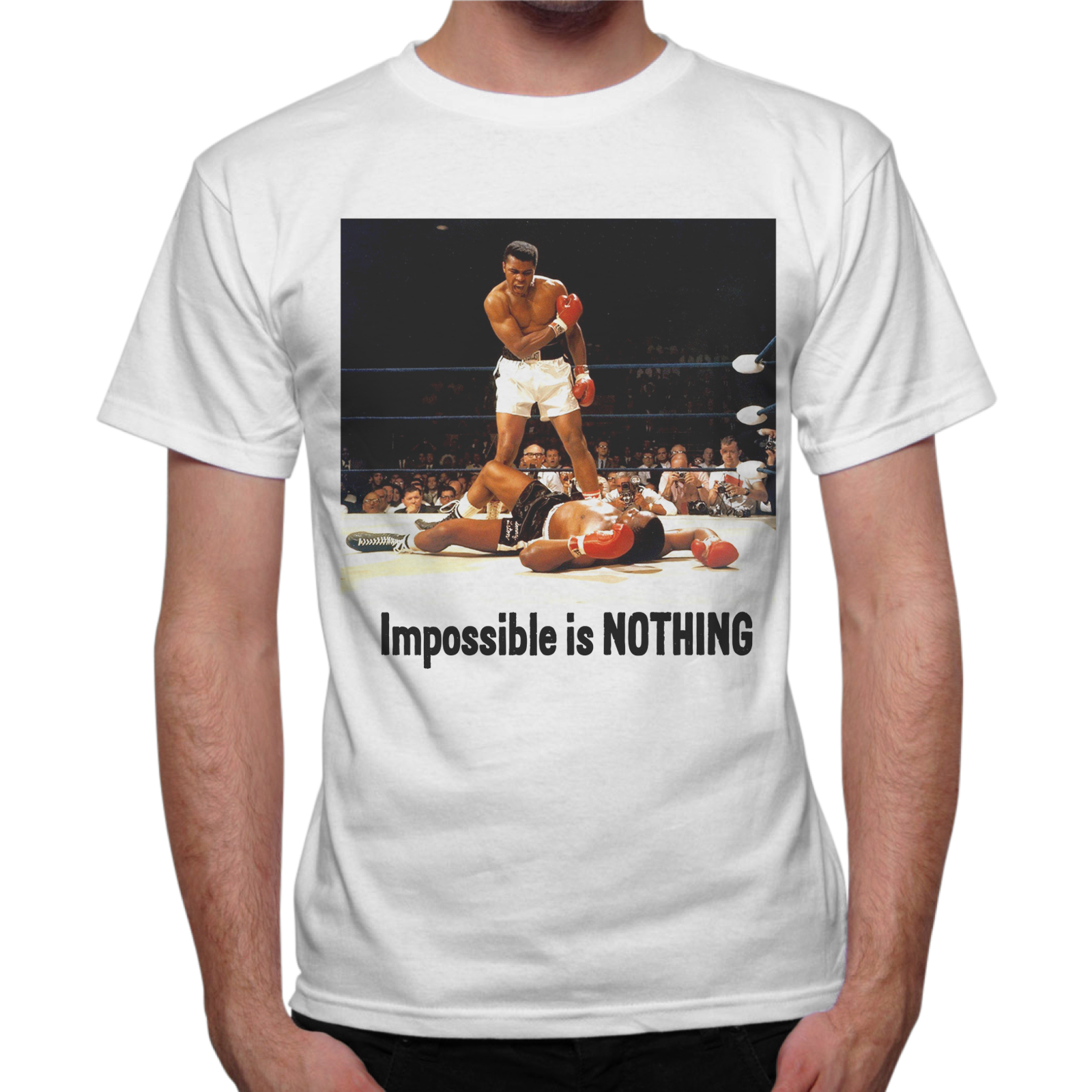 T-Shirt Uomo IMPOSSIBLE IS NOTHING