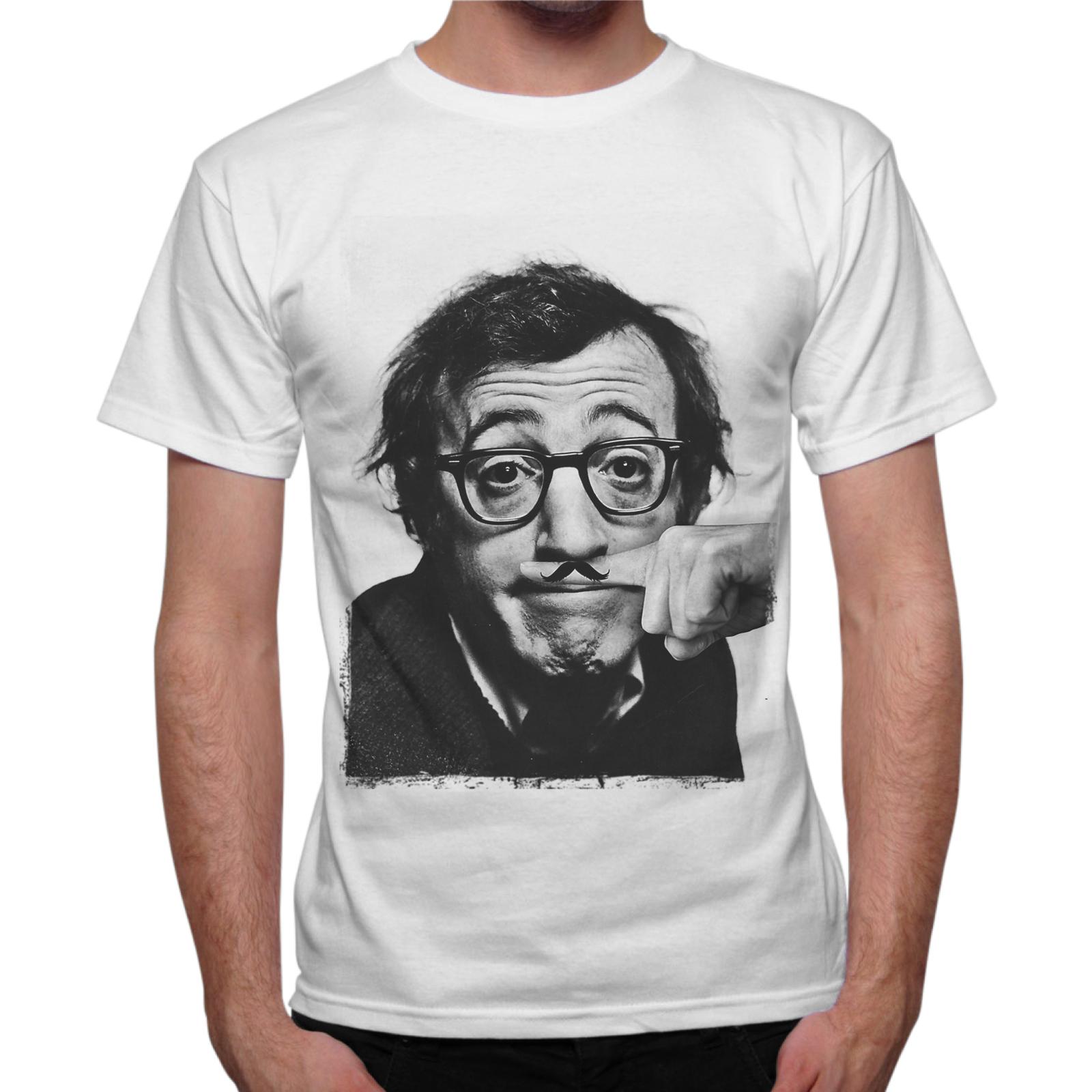 T-Shirt Uomo WOODY MUSTACHE