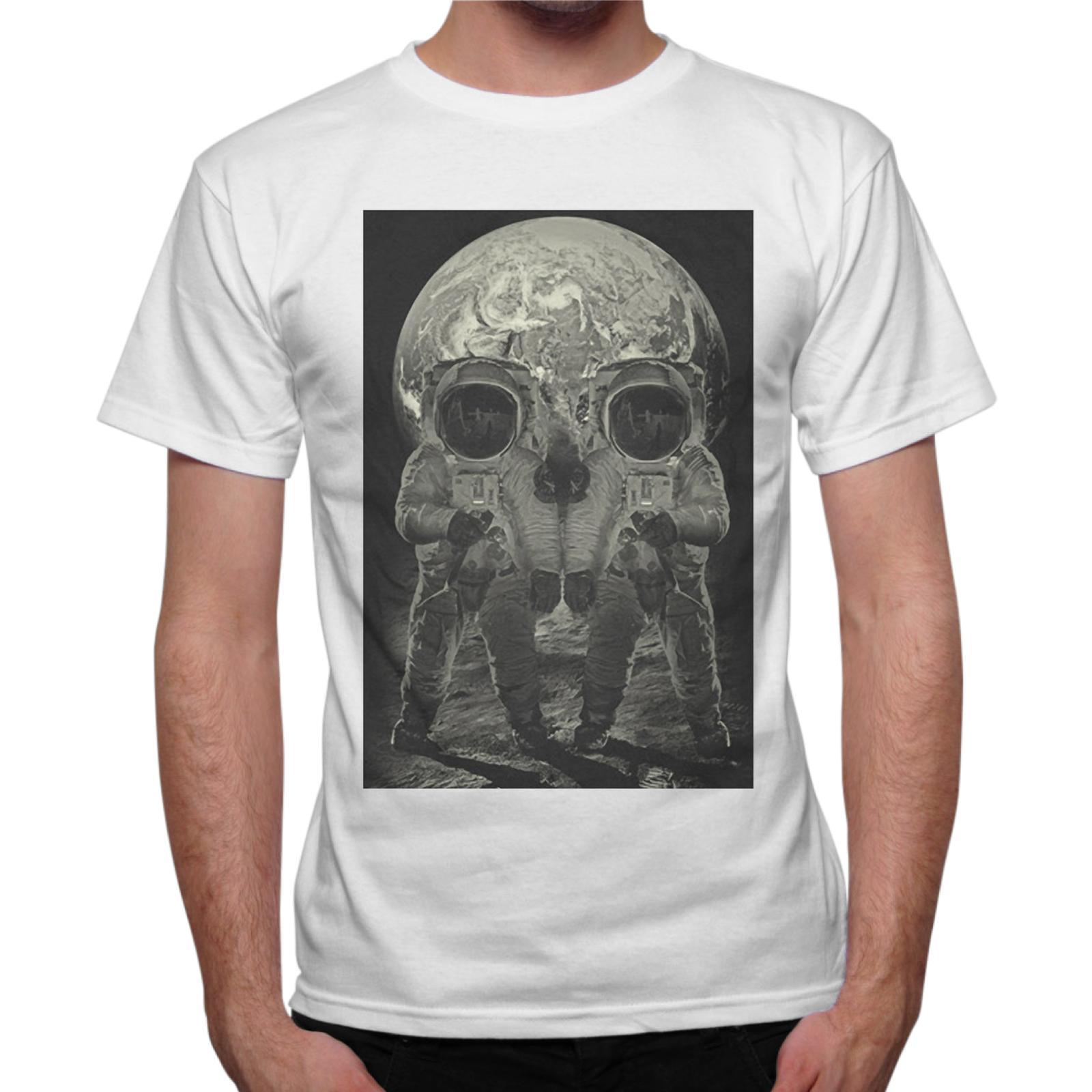 T-Shirt Uomo MOON SKULL