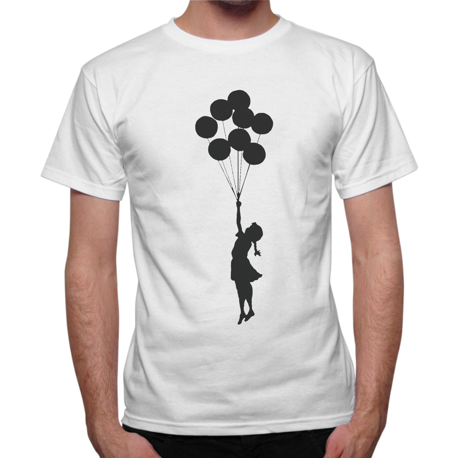 T-Shirt Uomo BAMBINA PALLONCINI