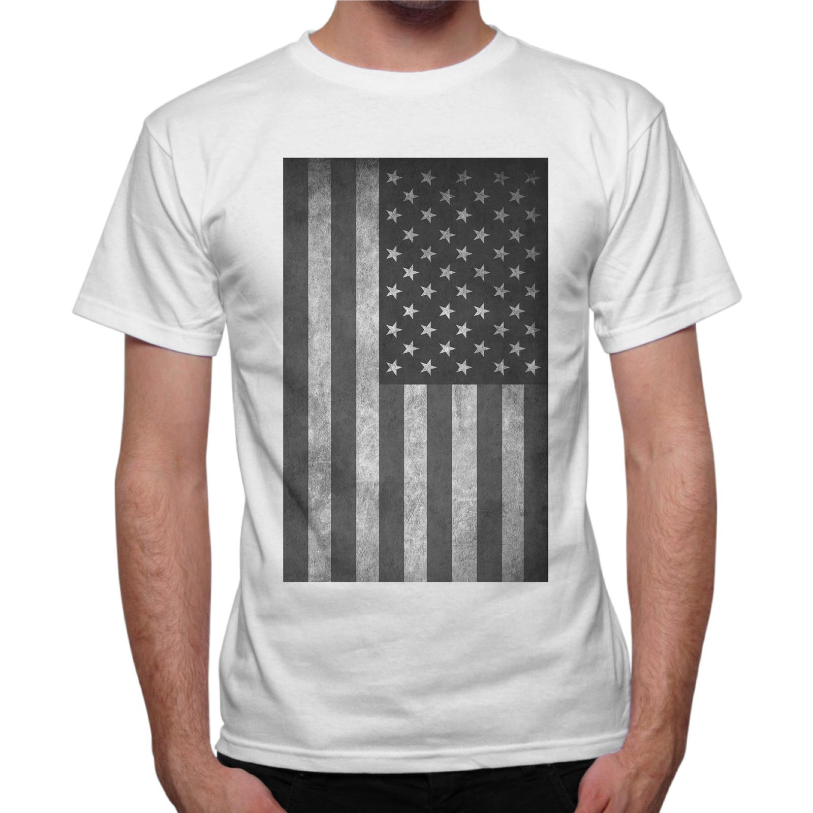 T-Shirt Uomo USA VINTAGE