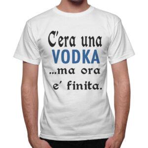 T-Shirt Uomo C'ERA UNA VODKA