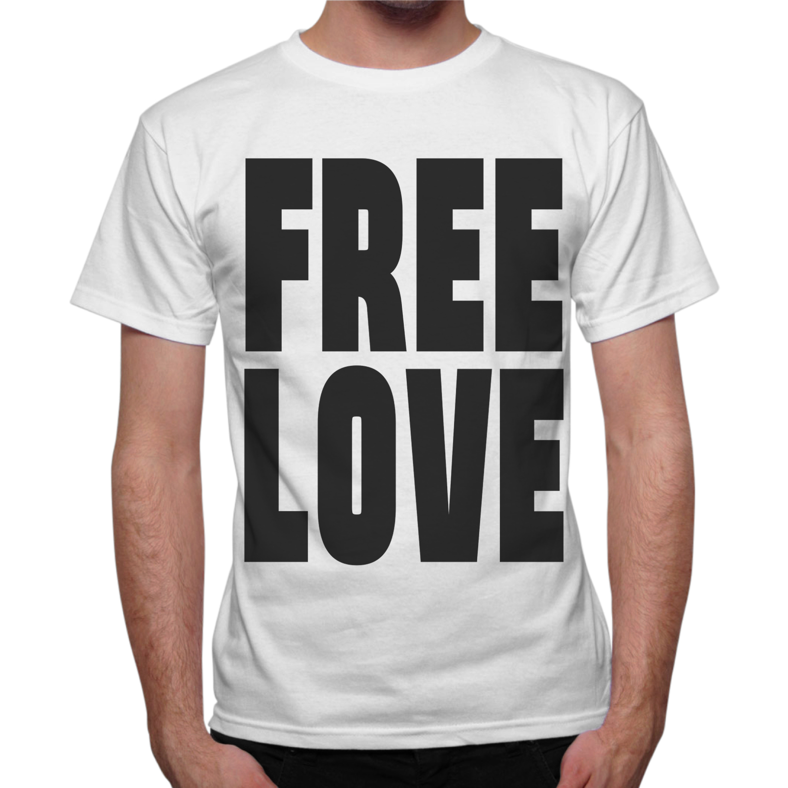 T-Shirt Uomo FREE LOVE