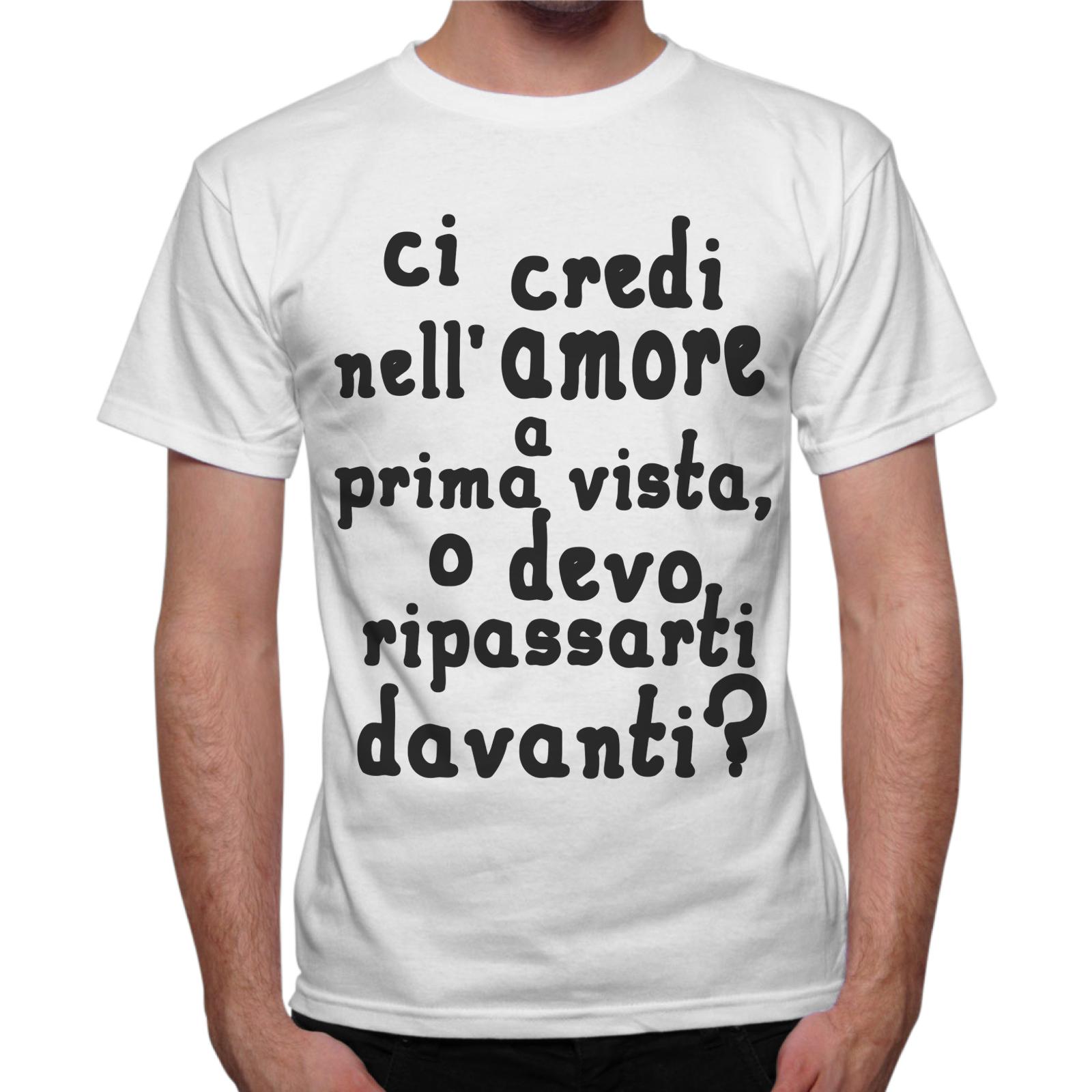 T-Shirt Uomo AMORE A PRIMA VISTA
