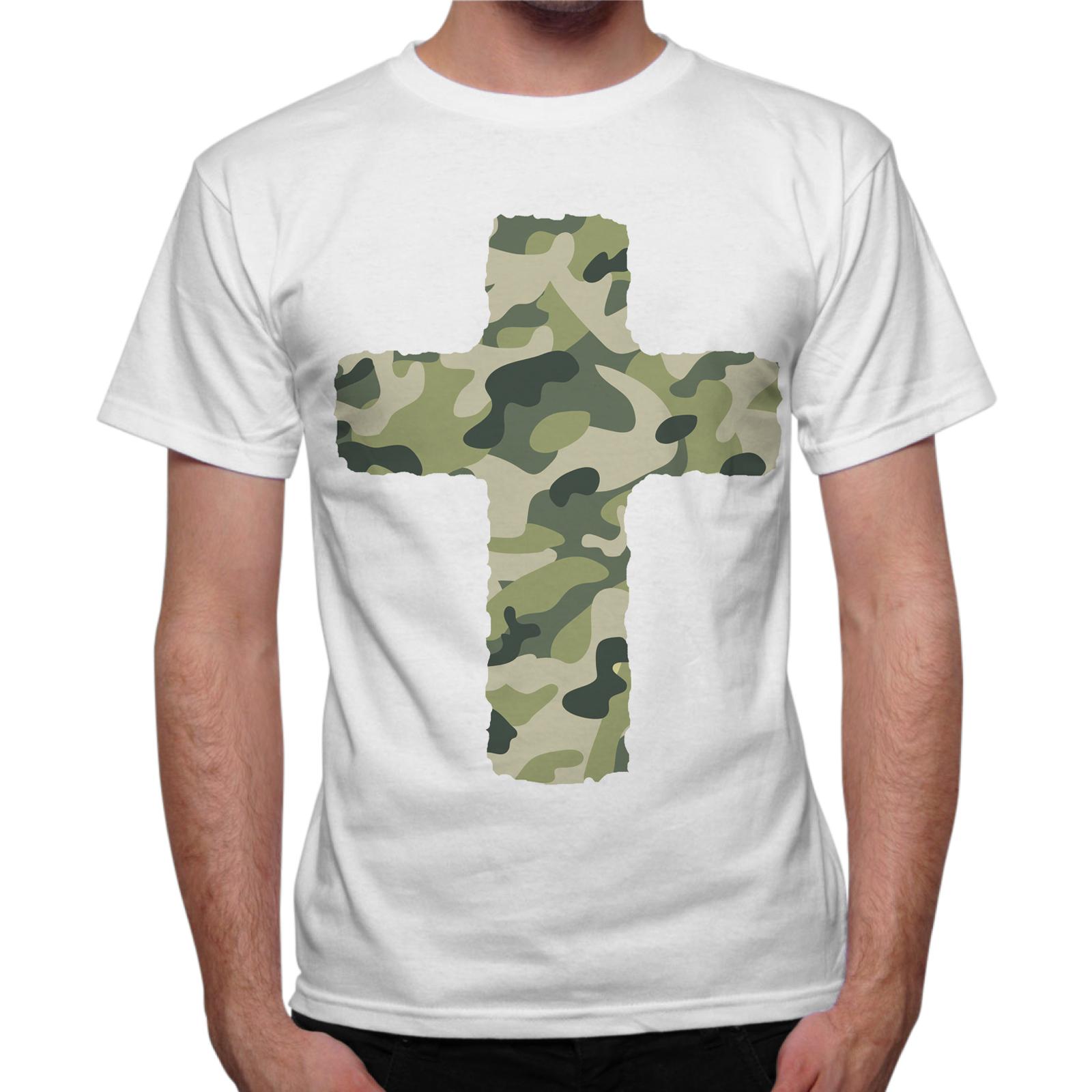 T-Shirt Uomo CROCE MILITARE 1