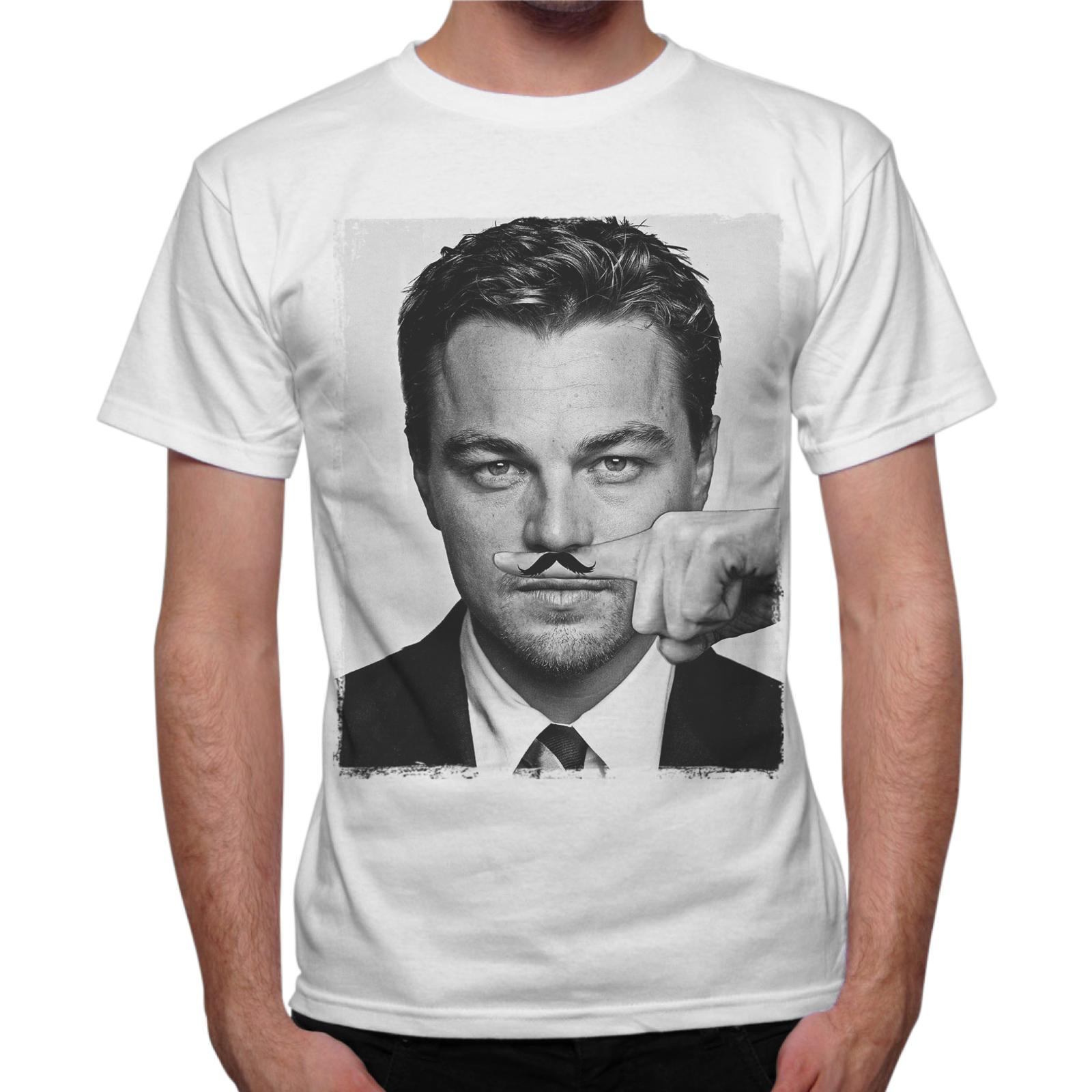 T-Shirt Uomo LEONARDO MUSTACHE