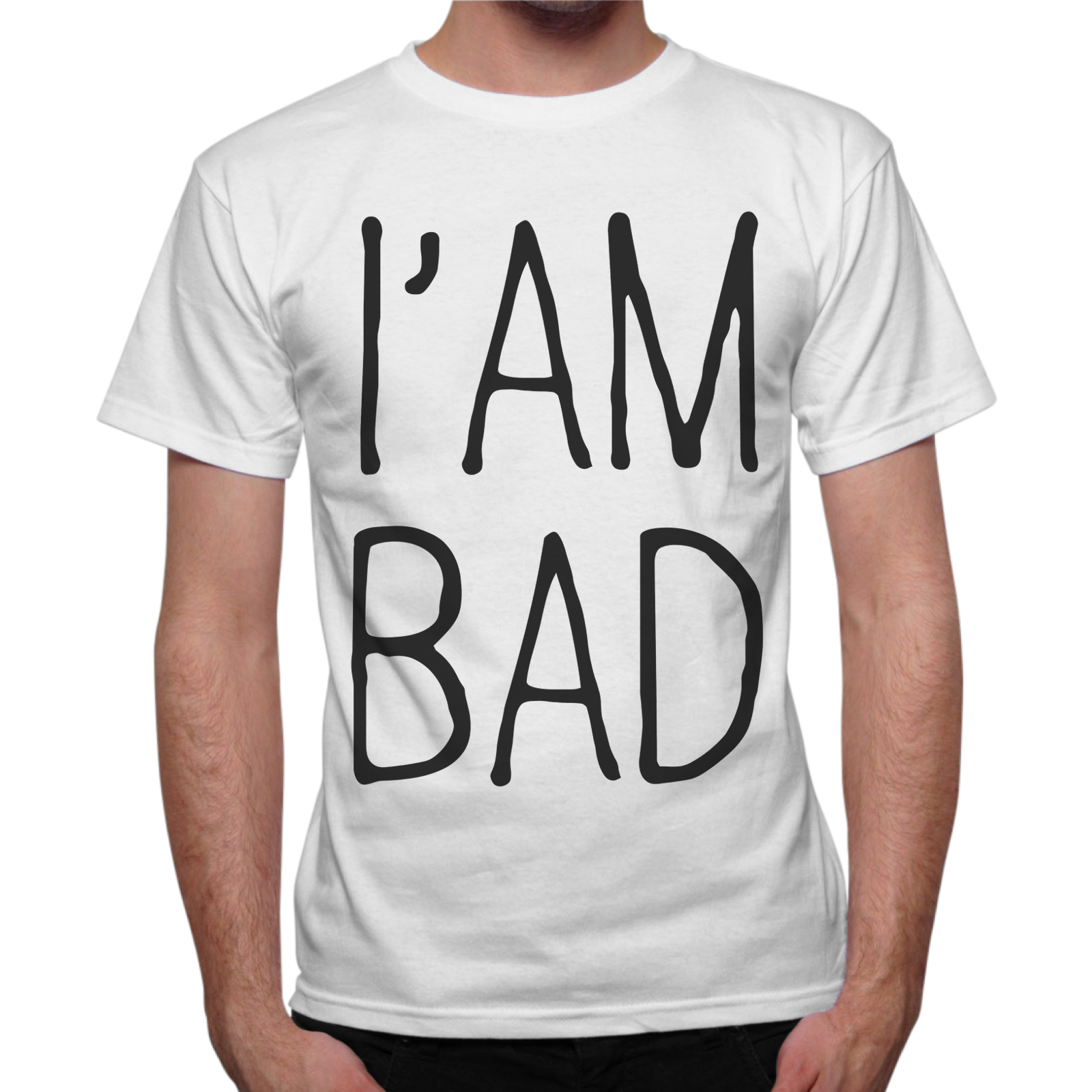 T-Shirt Uomo I AM BAD