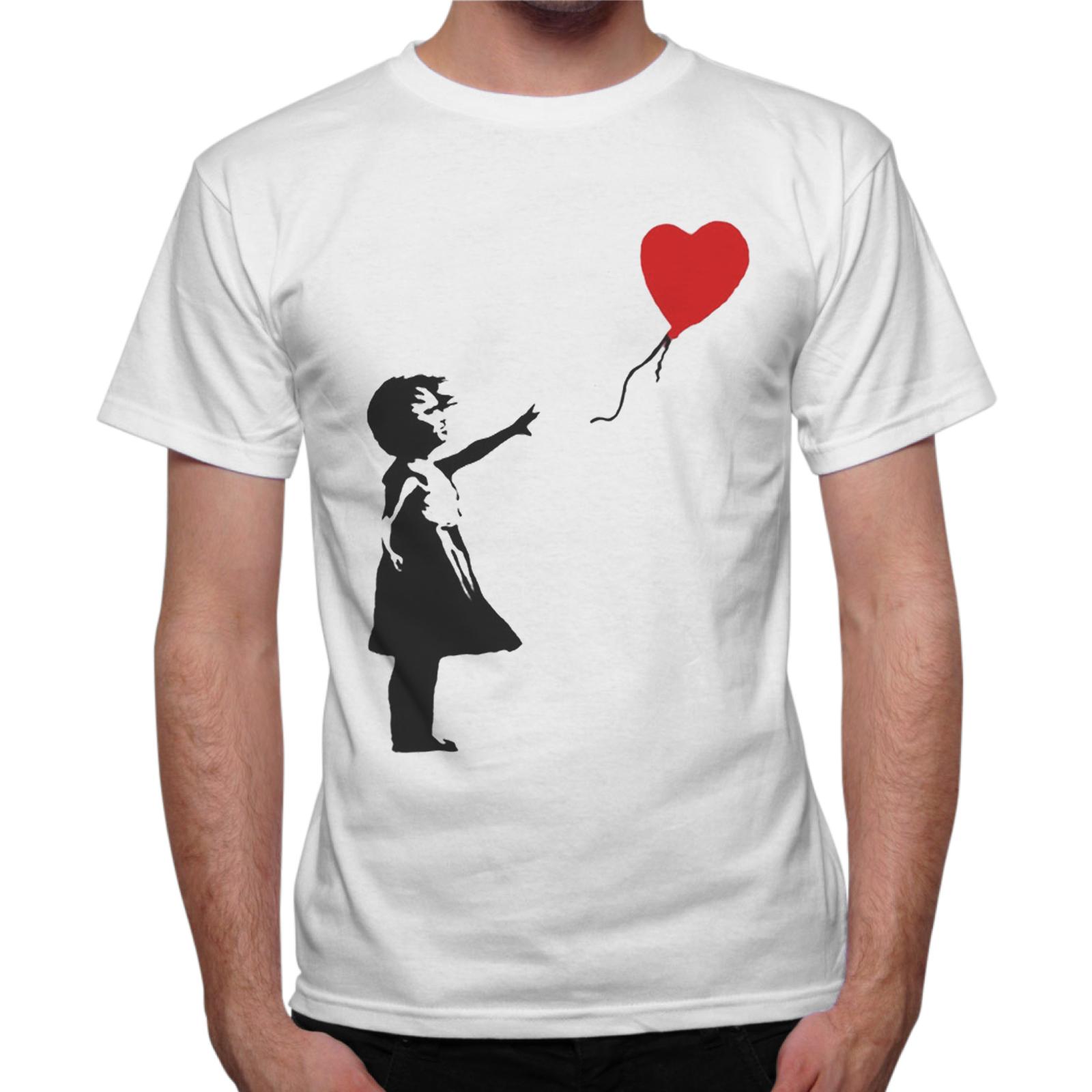 T-Shirt Uomo PALLONCINO CUORE
