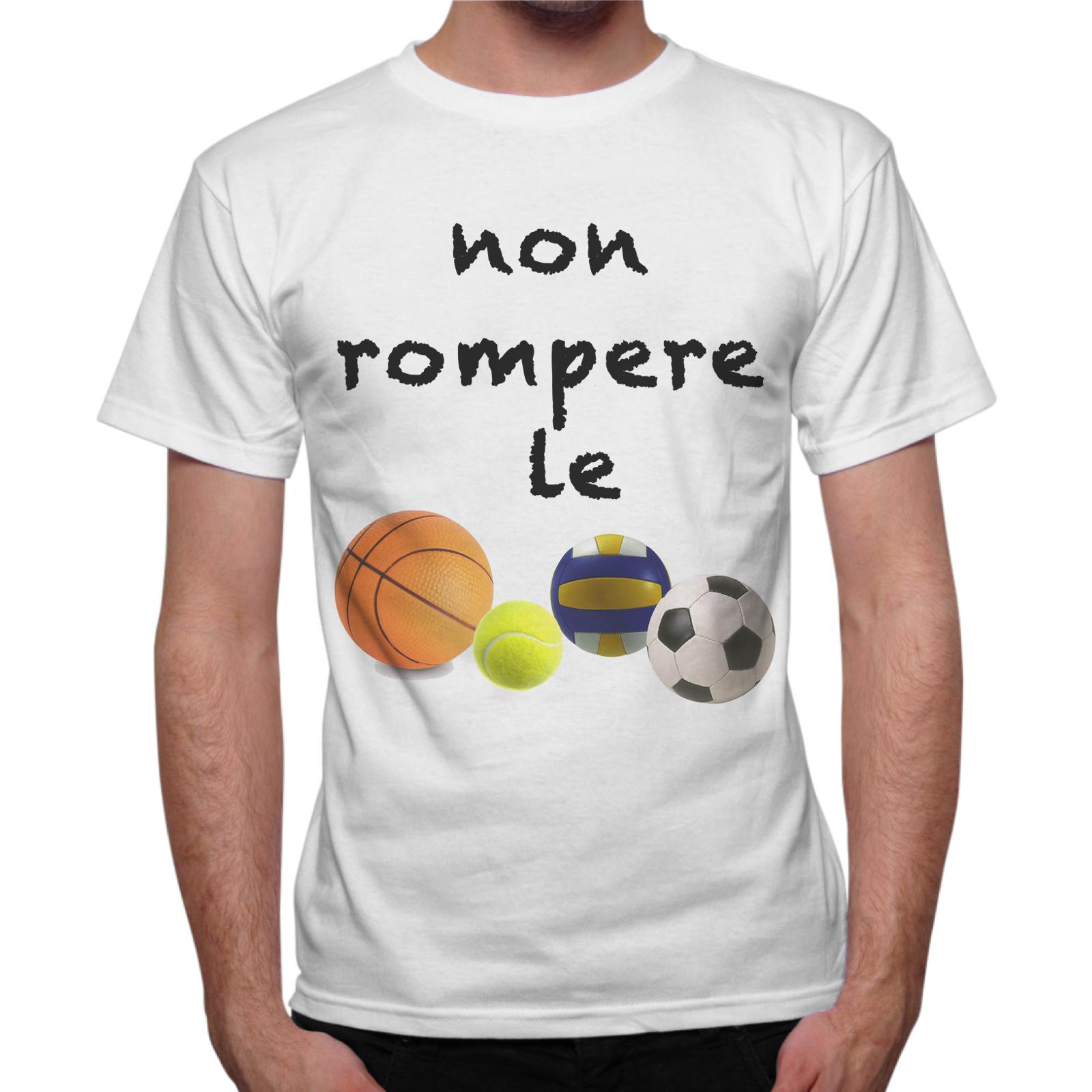 T-Shirt Uomo NON ROMPERE