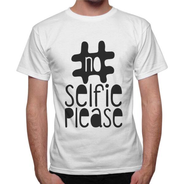 T-Shirt Uomo NO SELFIE  1
