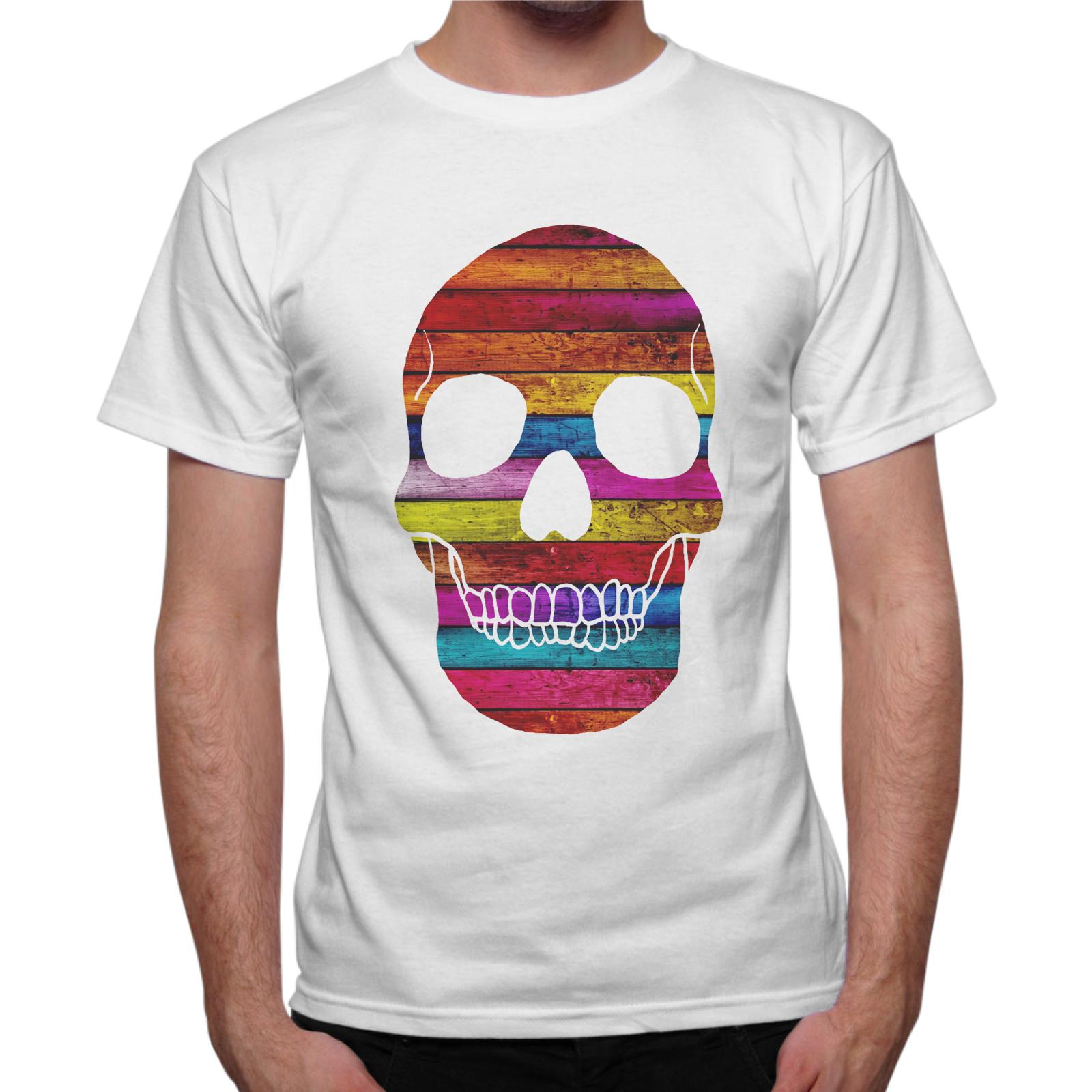 T-Shirt Uomo WOOD SKULL