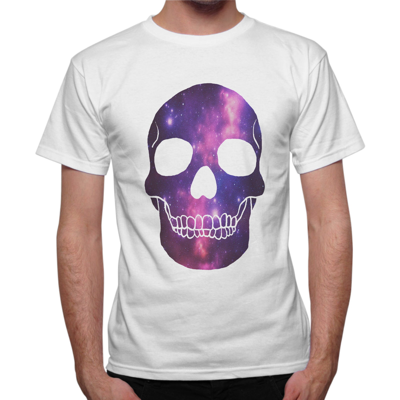 T-Shirt Uomo GALAXY SKULL