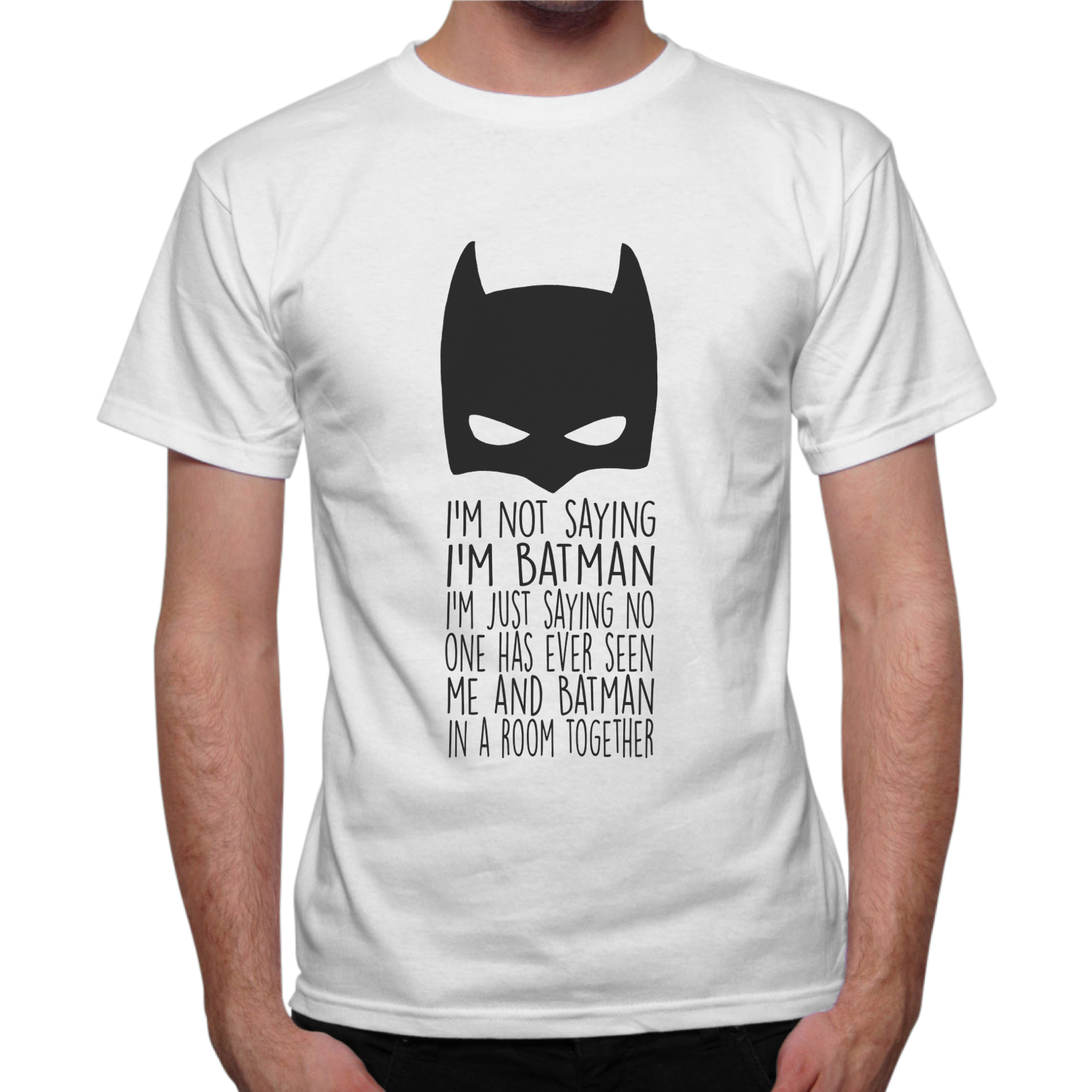 T-Shirt Uomo NOT SAYING I'M BATMAN 1