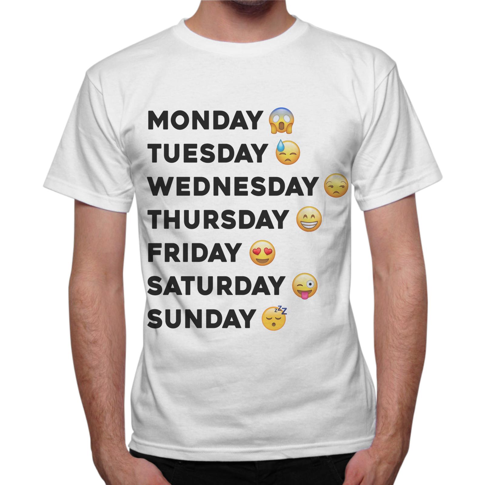 T-Shirt Uomo WEEK FACCINE