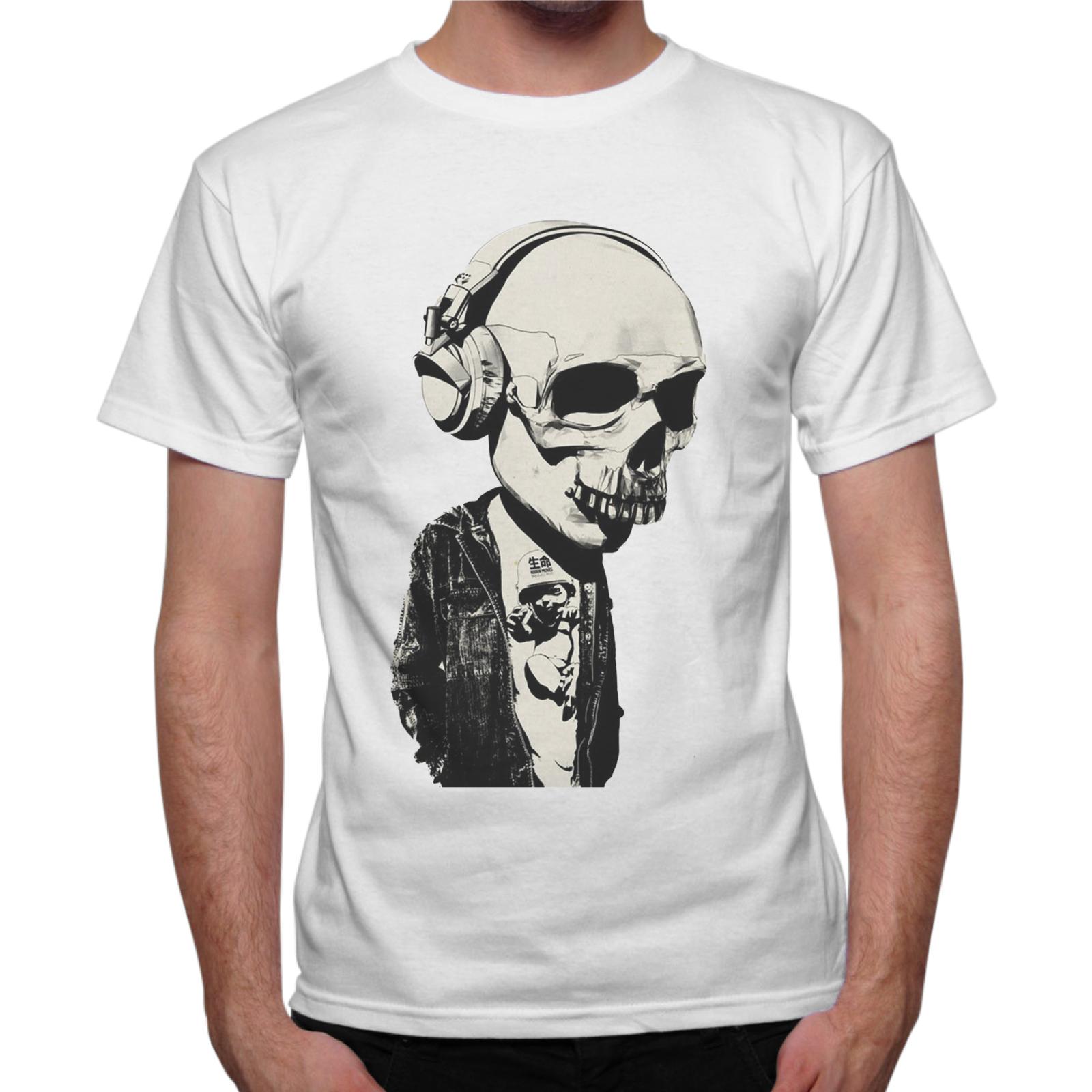 T-Shirt Uomo TESCHIO CUFFIE