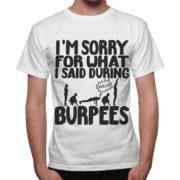 T-Shirt Uomo I'AM SORRY BURPEES