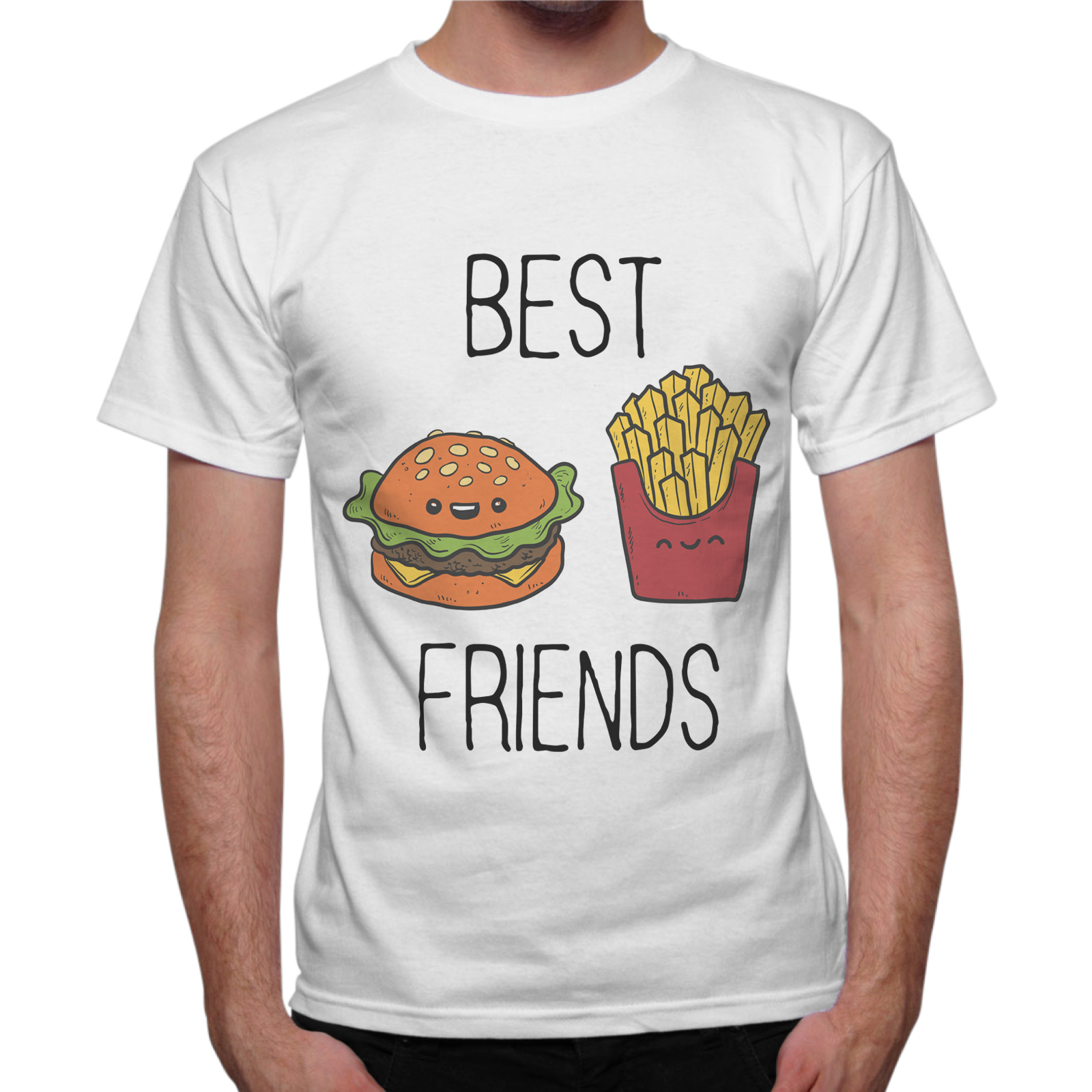 T-Shirt Uomo BEST FRIENDS MENU
