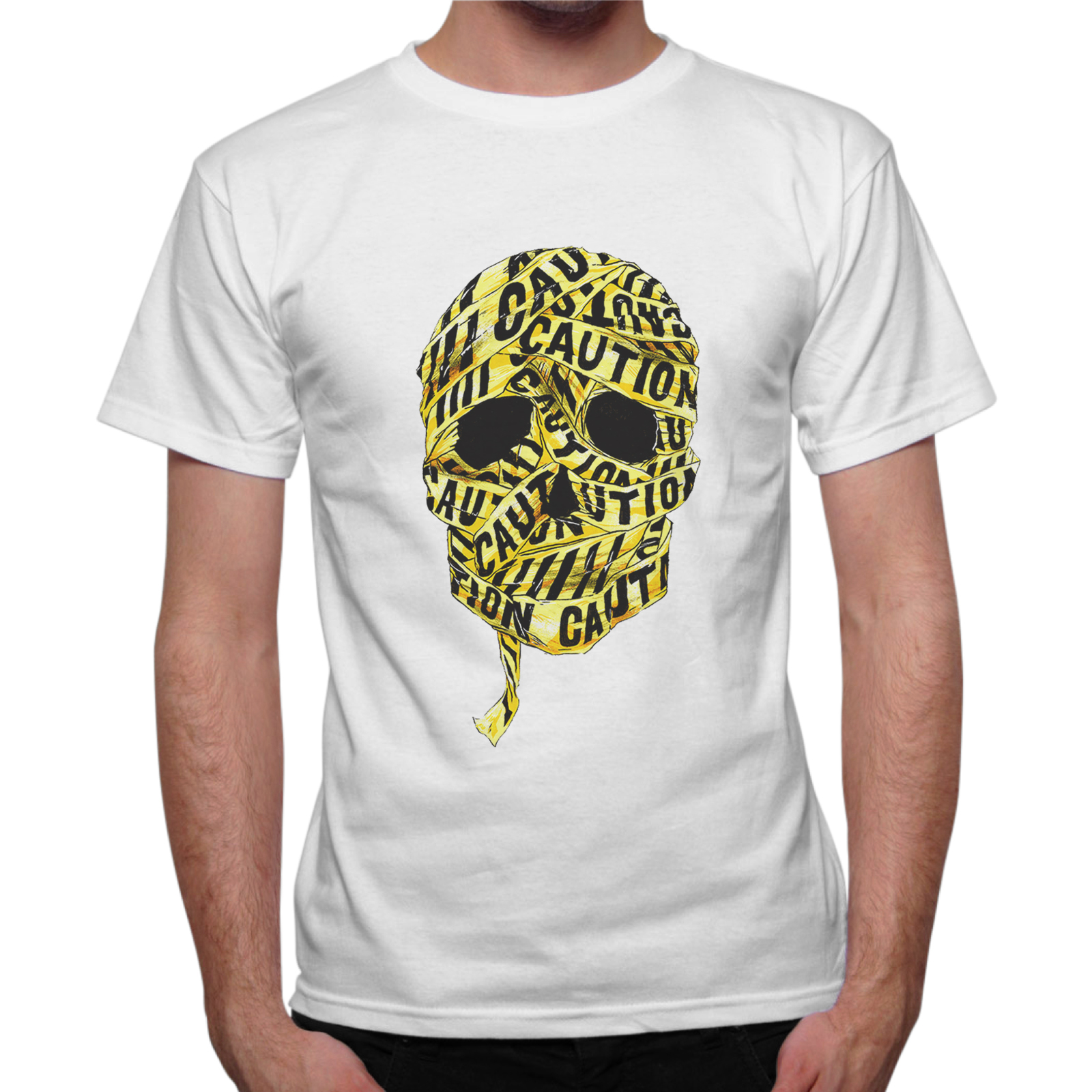 T-Shirt Uomo SKULL CAUTION