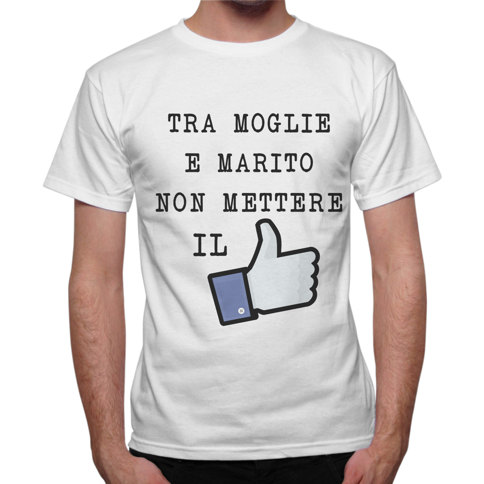 T-Shirt Uomo TRA MOGLIE E MARITO