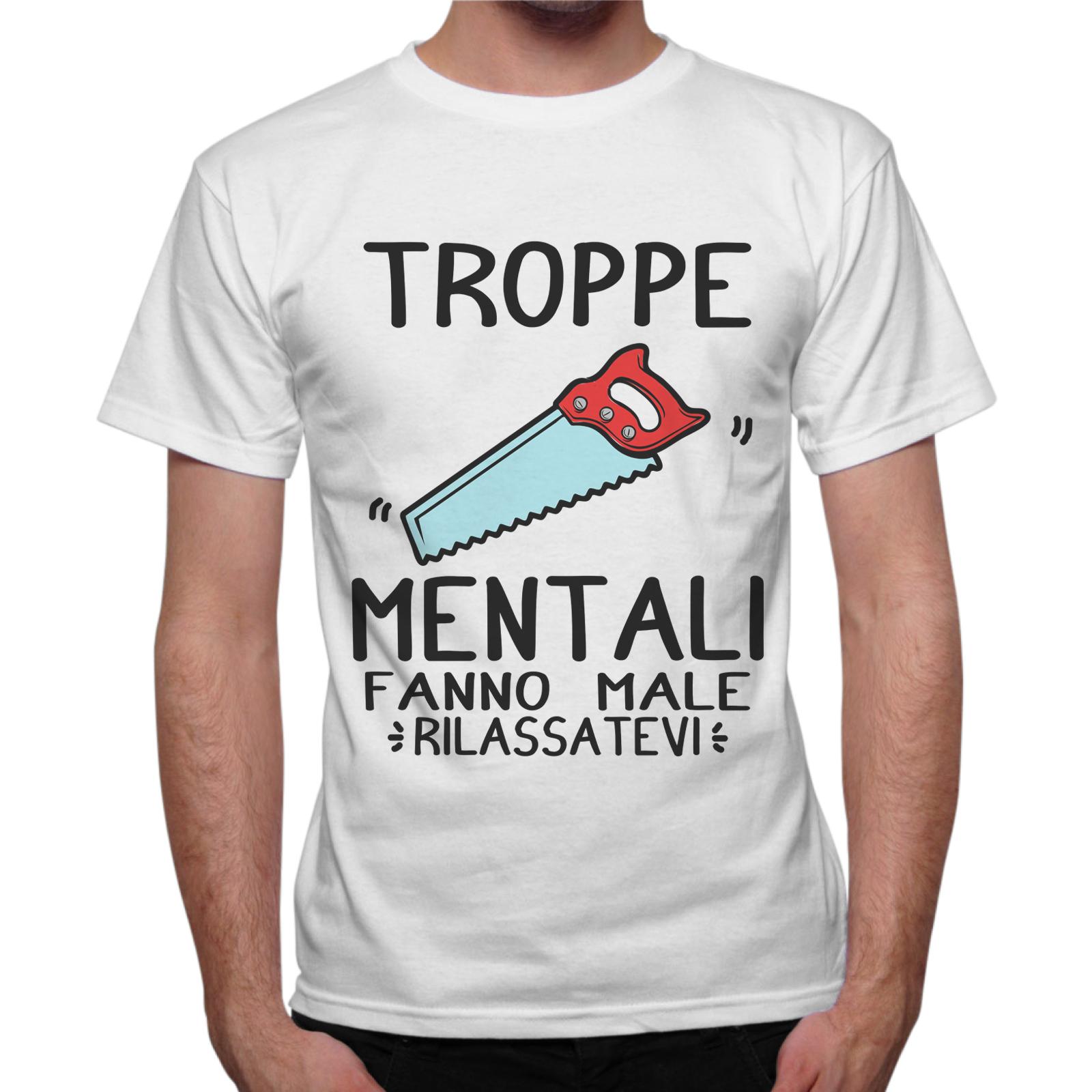T-Shirt Uomo SEGHE MENTALI