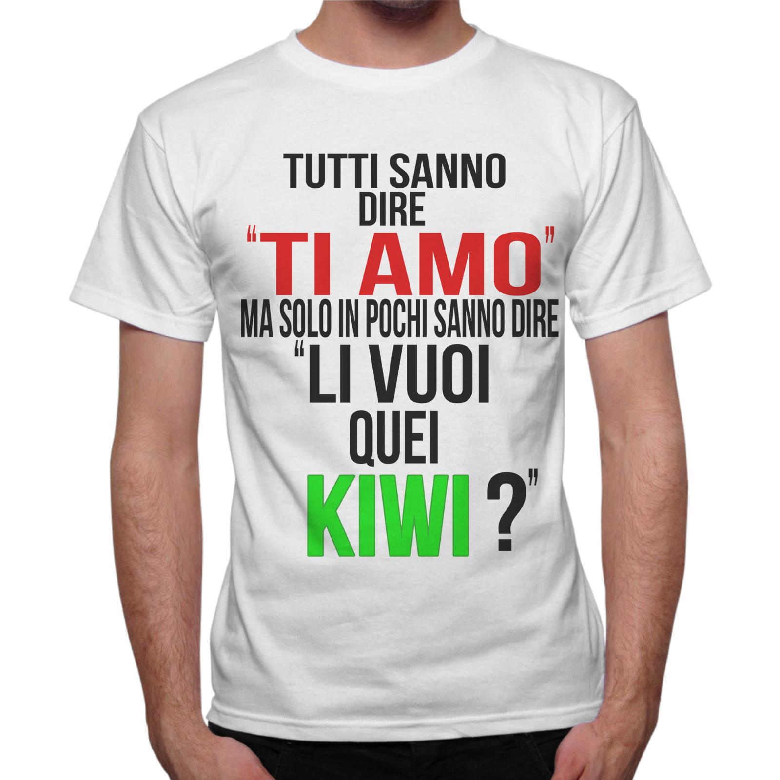 T-Shirt Uomo LI VUOI QUEI KIWI