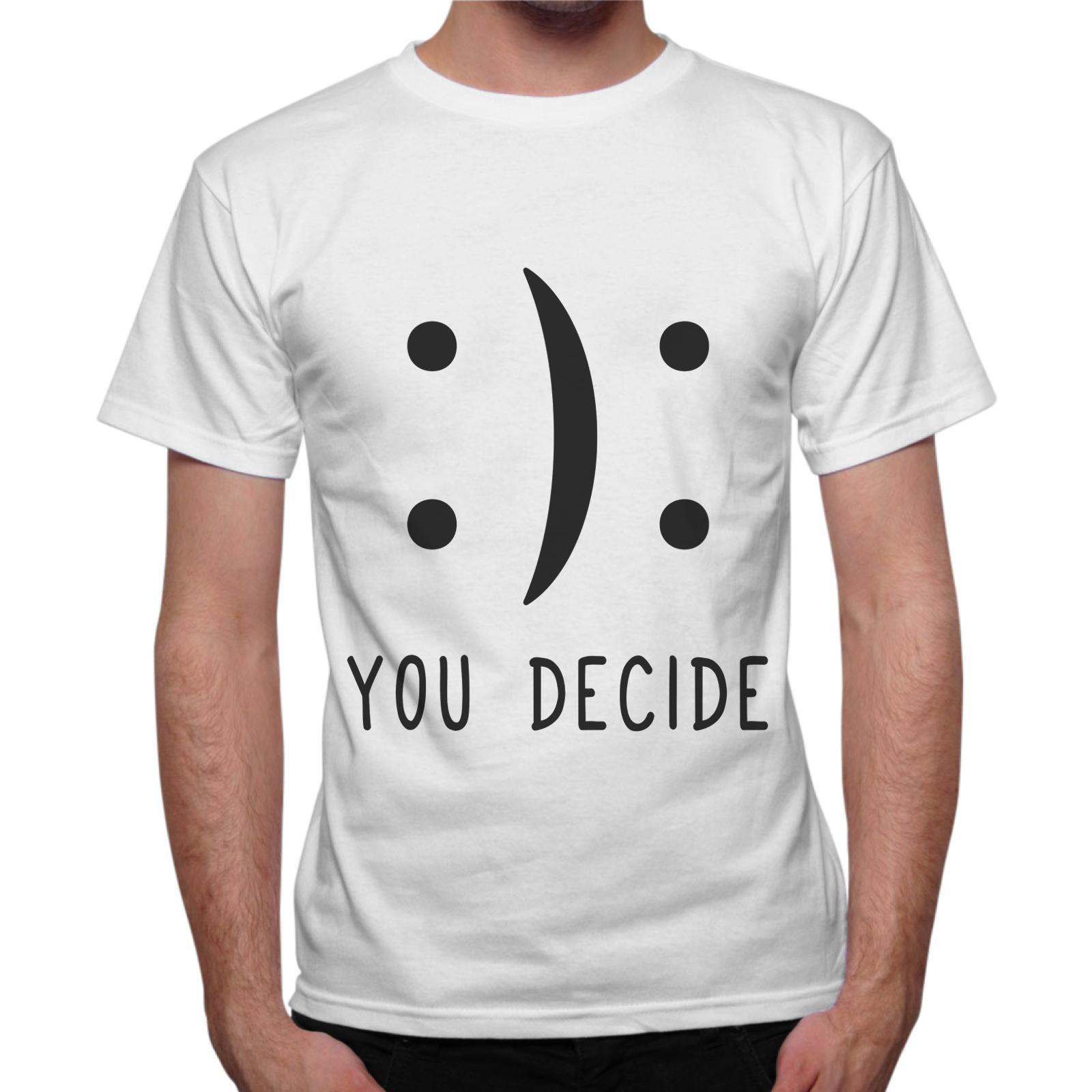 T-Shirt Uomo YOU DECIDE
