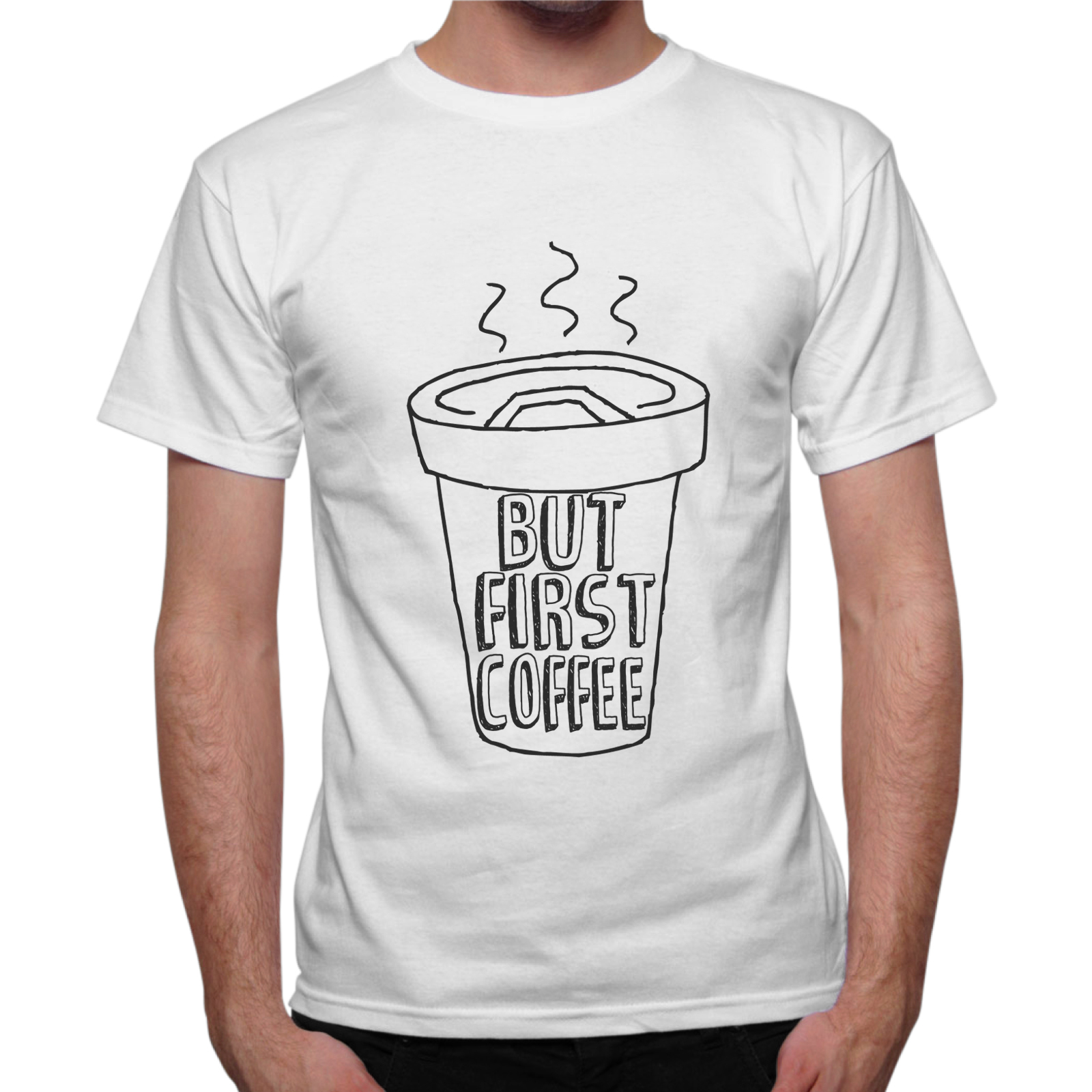 T-Shirt Uomo FIRST COFFEE