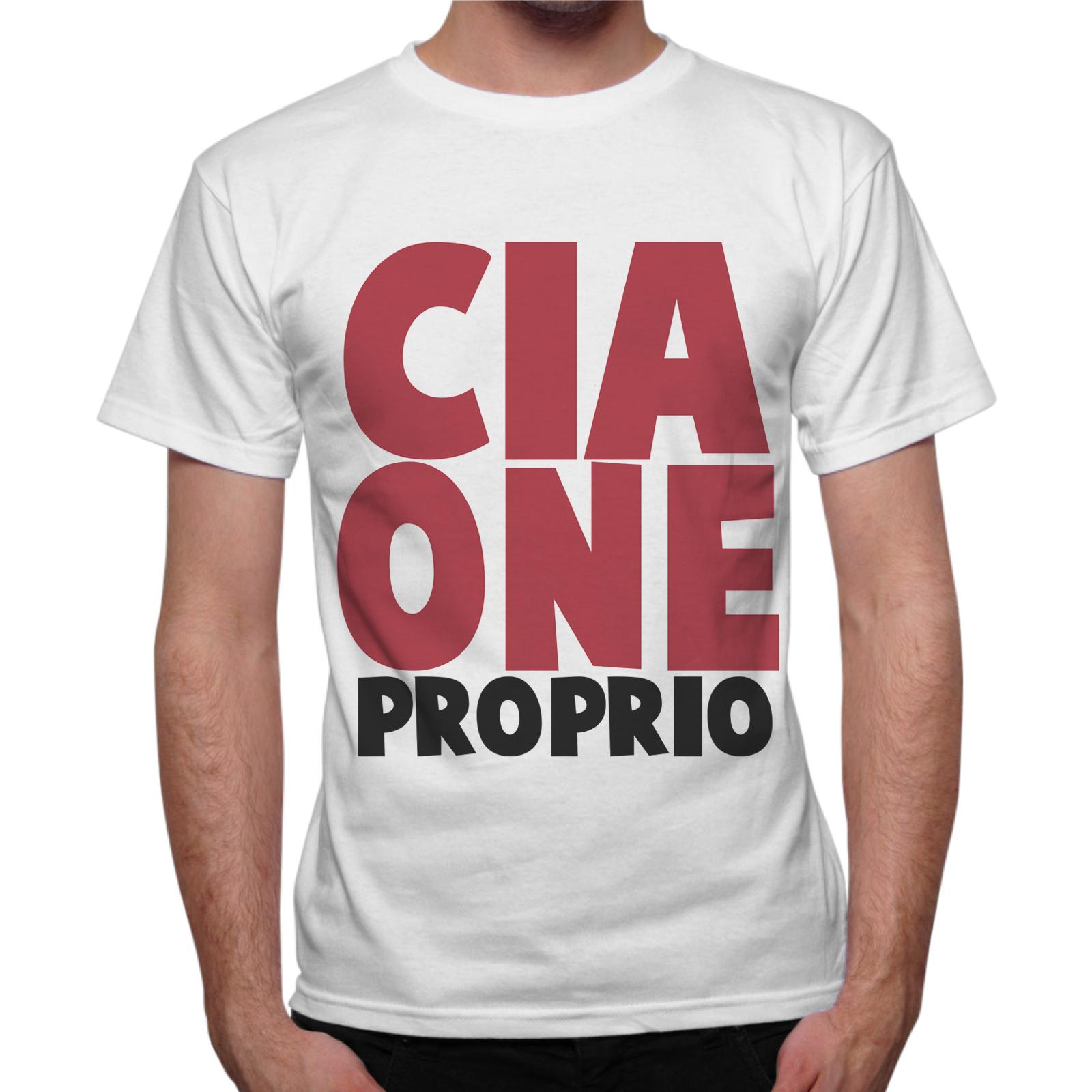 T-Shirt Uomo CIAONE PROPRIO