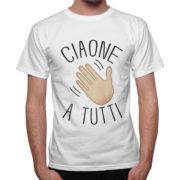 T-Shirt Uomo CIAONE A TUTTI