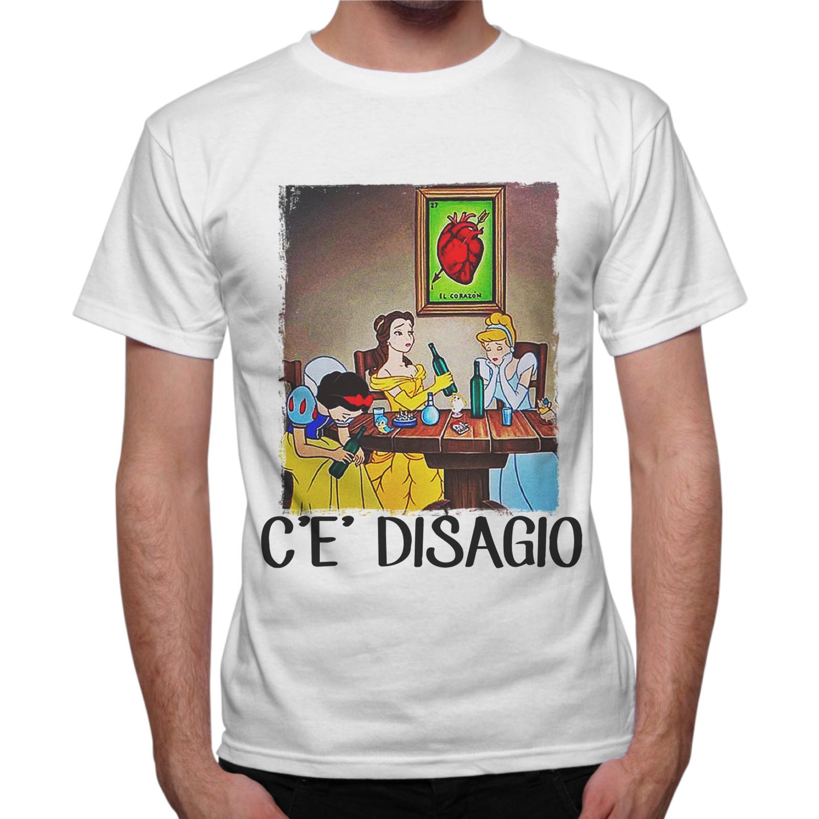 T-Shirt Uomo C'E' DISAGIO