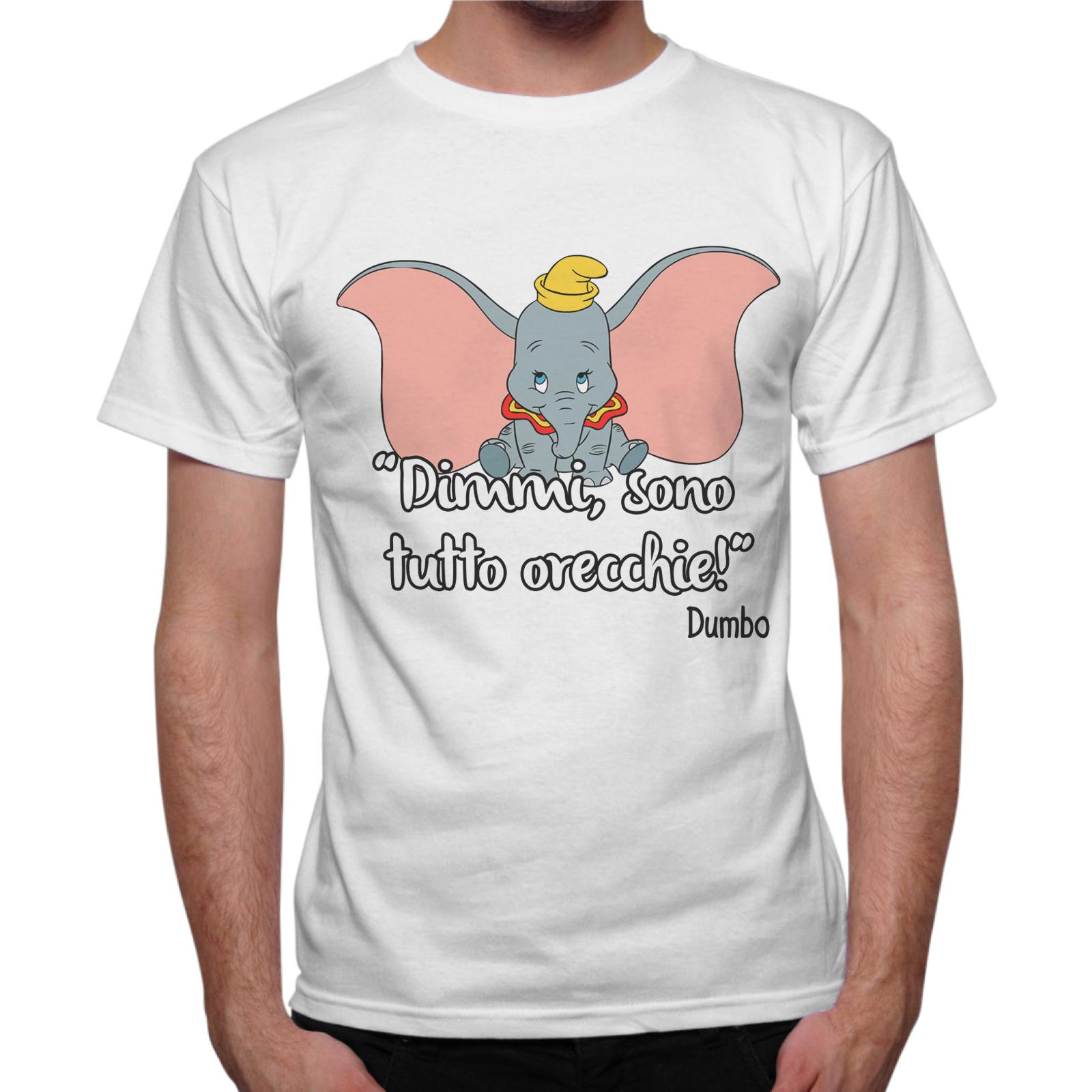 T-Shirt Uomo SONO TUTTO ORECCHIE