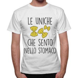T-Shirt Uomo LE FARFALLE NELLO STOMACO