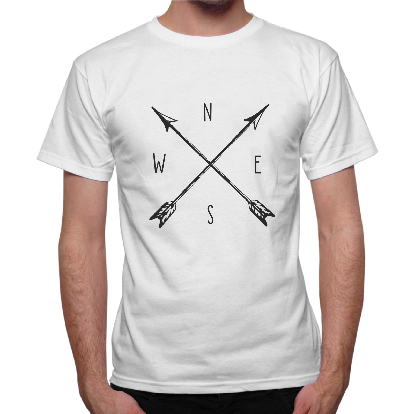 T-Shirt Uomo BUSSOLA VINTAGE