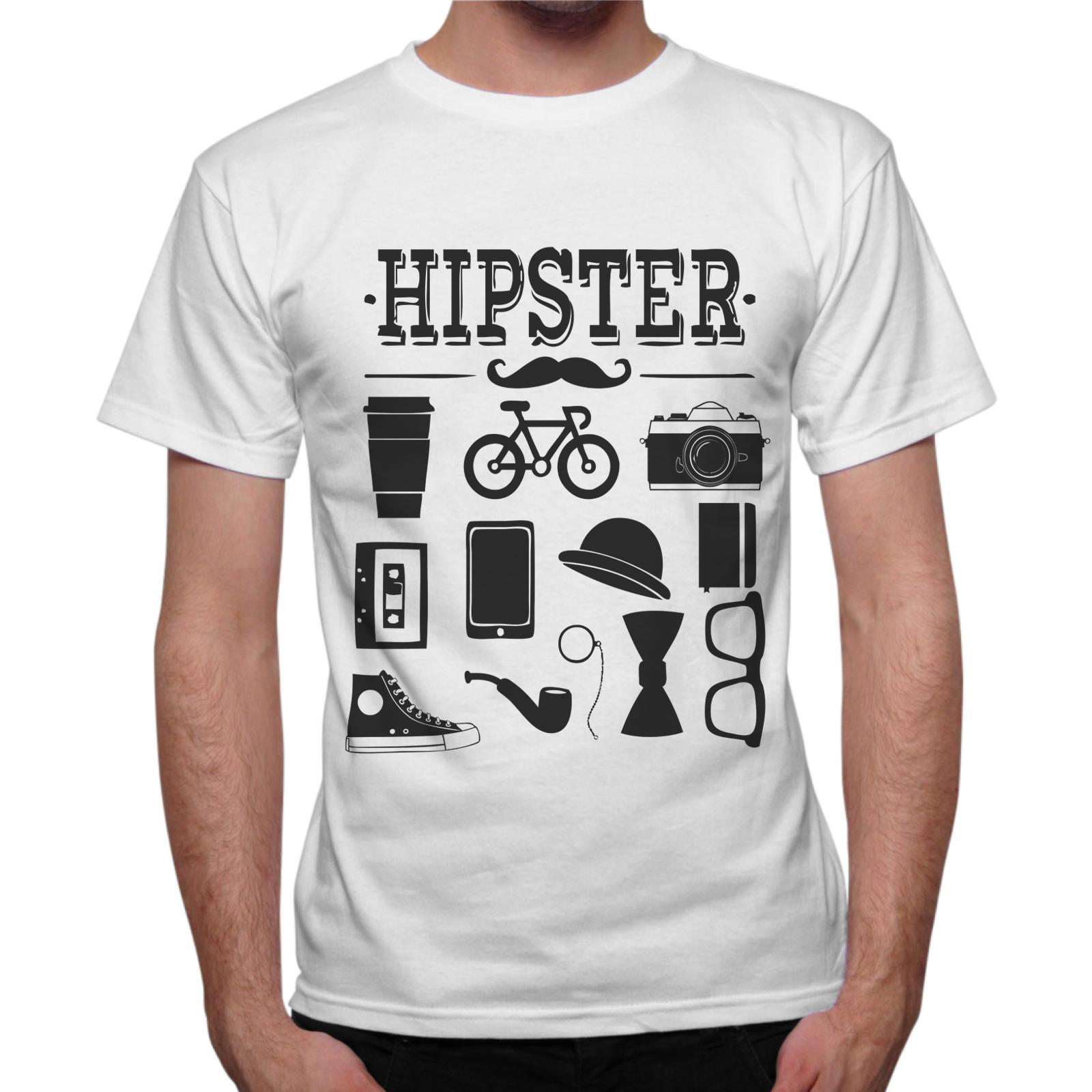 T-Shirt Uomo HIPSTER GADGET