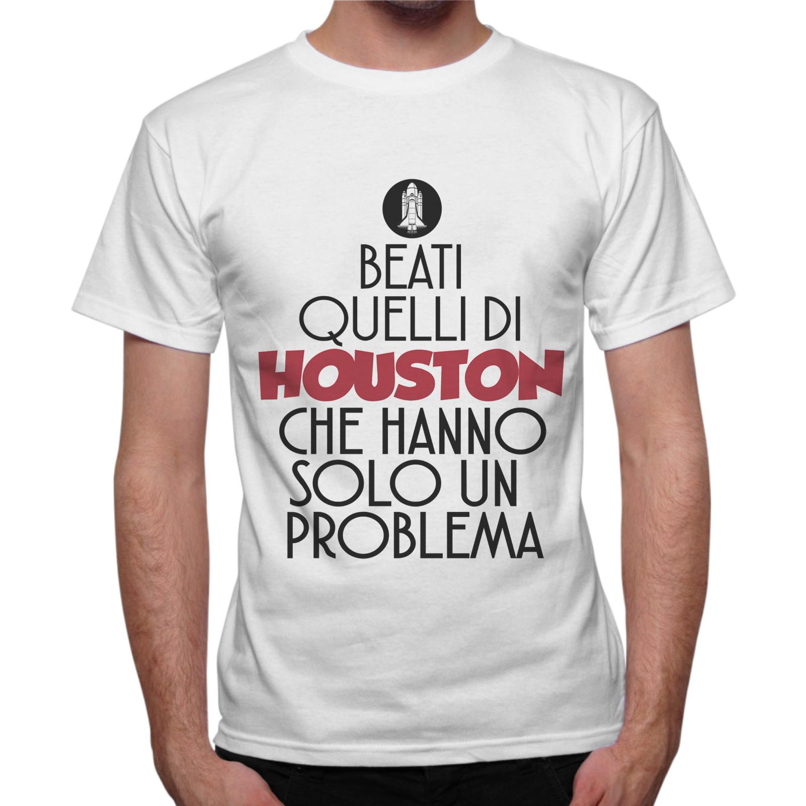 T-Shirt Uomo BEATI QUELLI DI HOUSTON 1