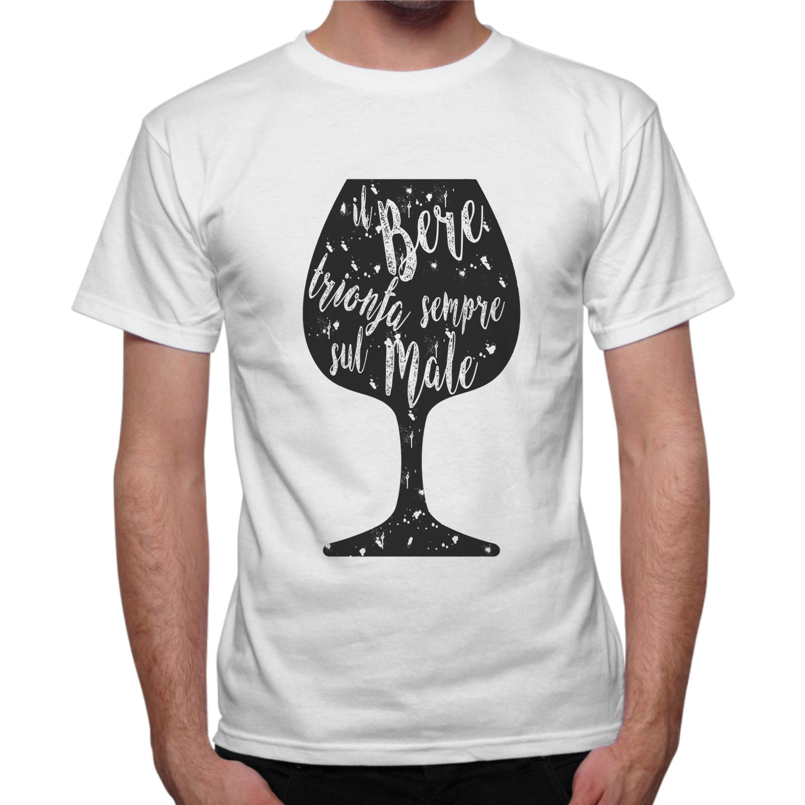 T-Shirt Uomo IL BERE TRIONFA