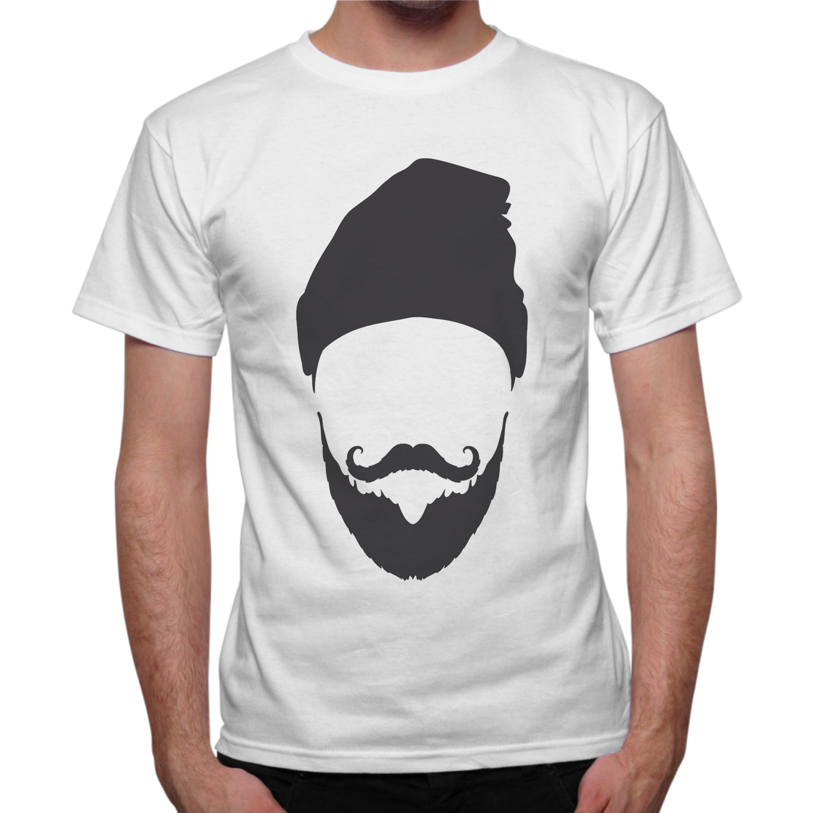 T-Shirt Uomo CAPPELLO BARBA