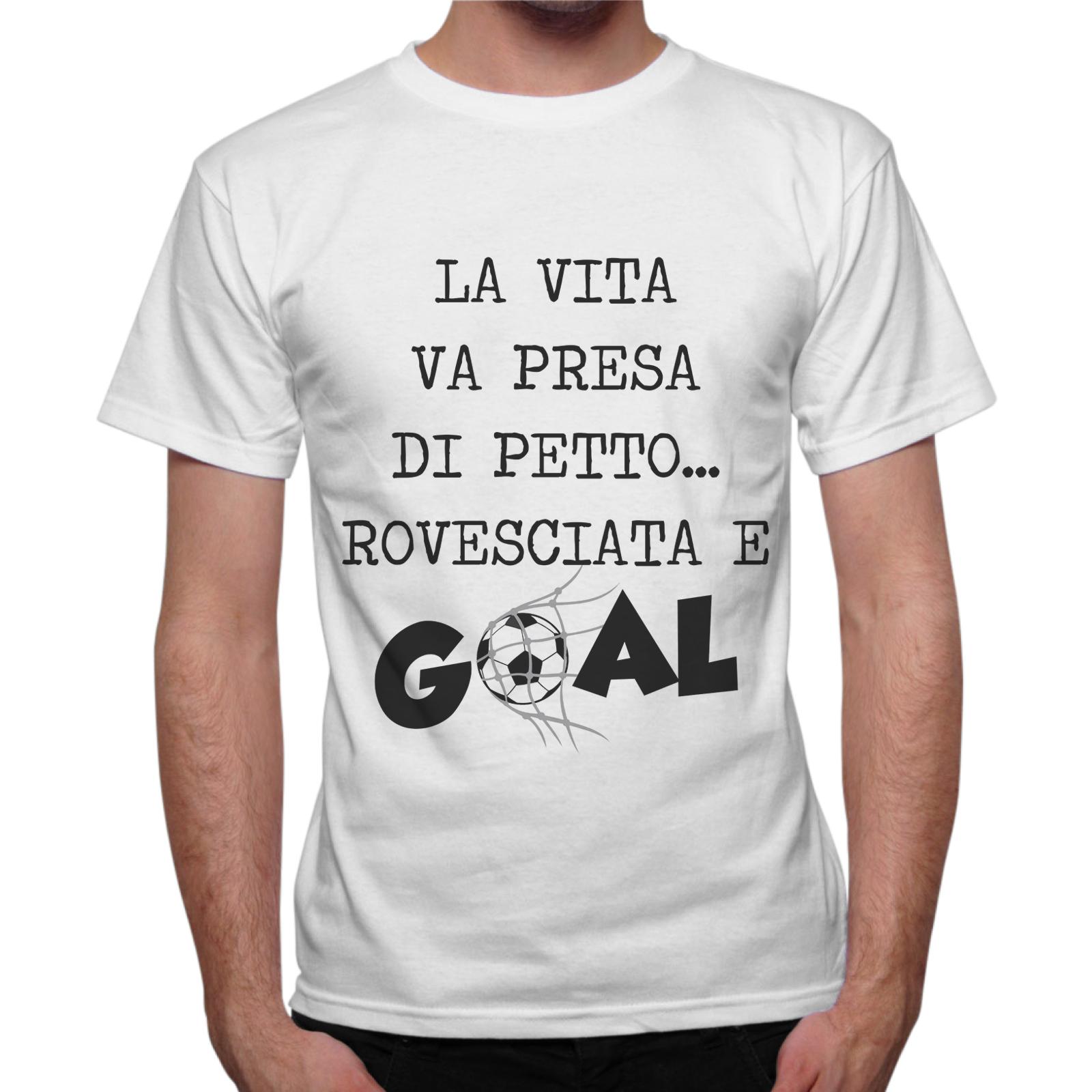 T-Shirt Uomo PETTO ROVESCIATA GOAL
