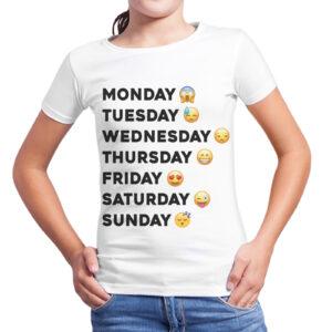 T-Shirt Bambina SETTIMANA FACCINE