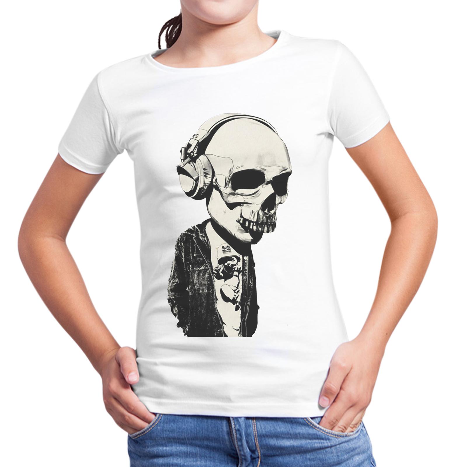 T-Shirt Bambina TESCHIO CUFFIE